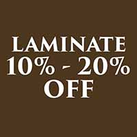 Fall Home Makeover Sale on Laminate flooring. 10%-20% off.