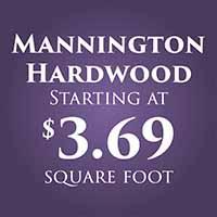 Anniversary Flooring Sale  Mannington Hardwood  Starting at $3.69 sq. ft.